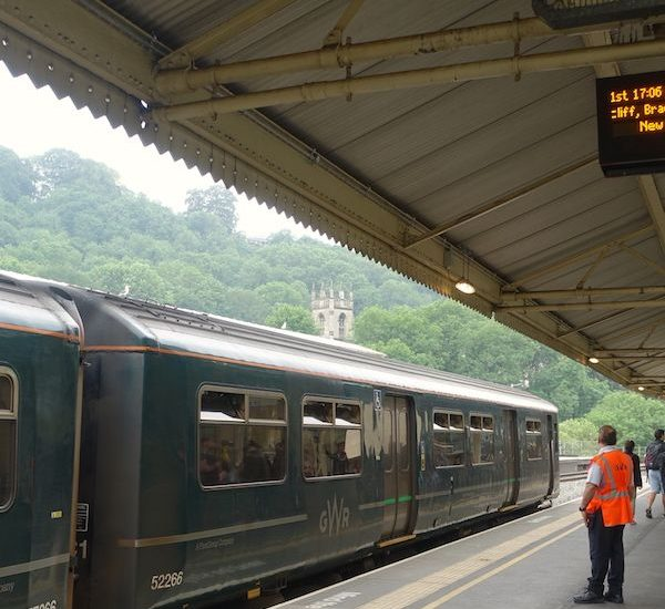 Bath Spa train station
