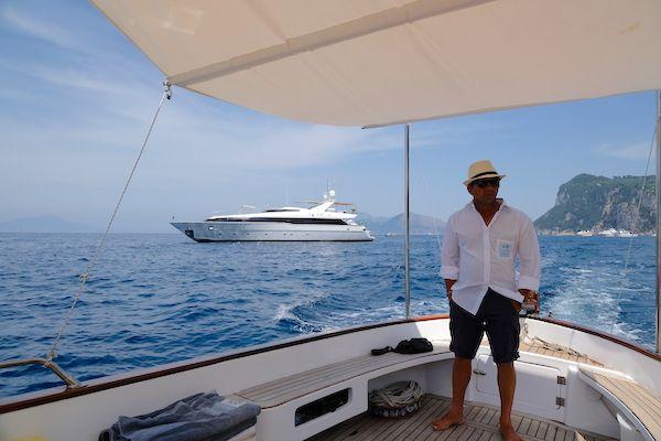Boat and skipper