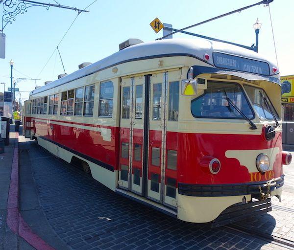 Tram, one public transportation option
