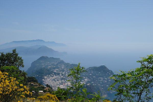 Capri Town from Monte Solaro