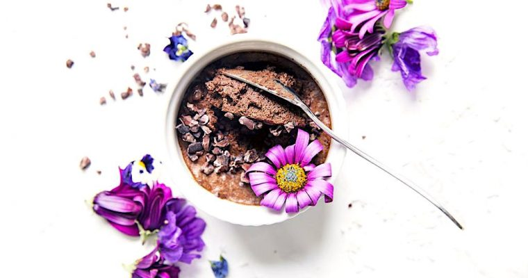 Chocolate Mousse recipe with only three ingredients!