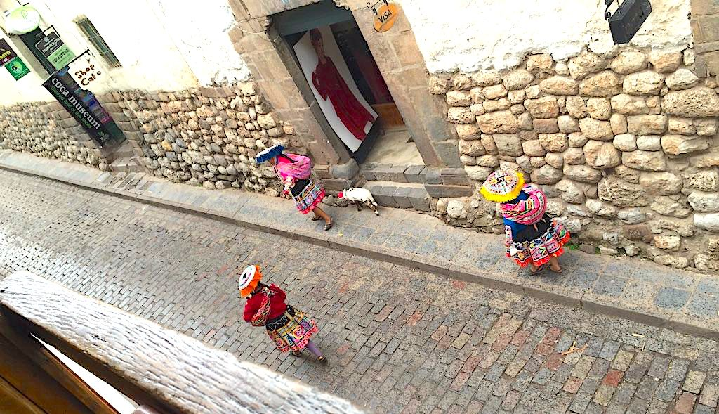 Cuzco City in Peru, also means a beautiful Culinary experience
