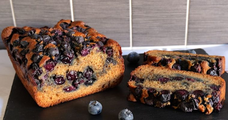 A Healthy-ish Blueberry Cake Recipe