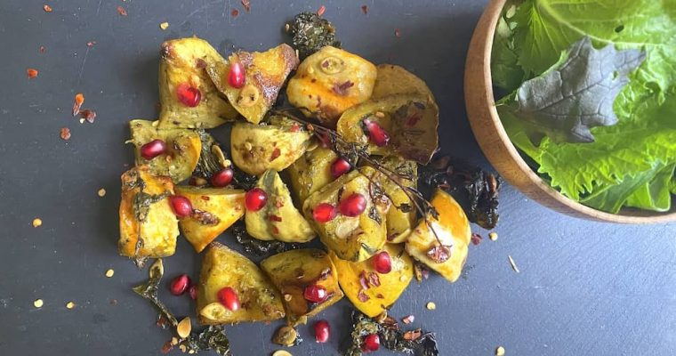 Roasted Squash & Sweet Potato Salad