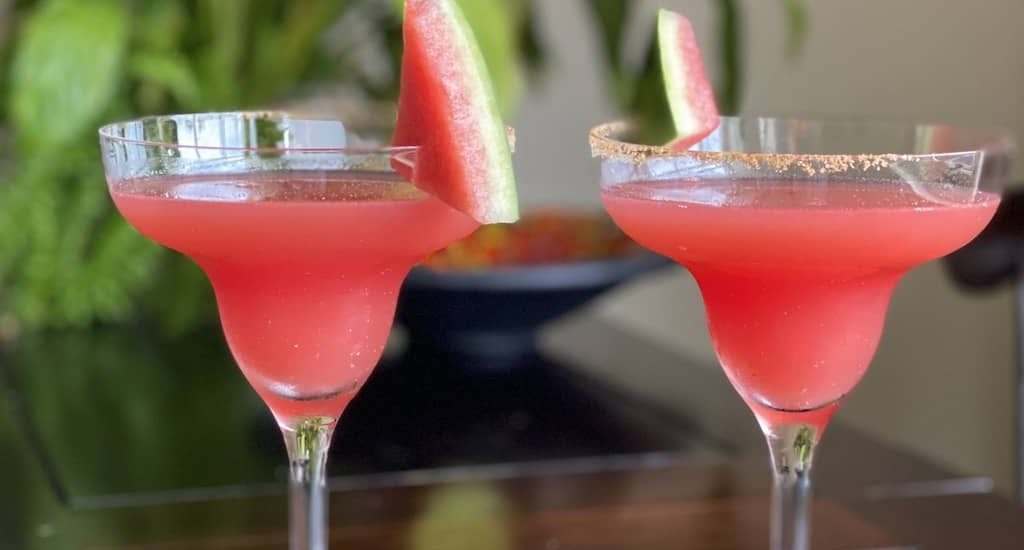 Spicy Watermelon Margarita recipe