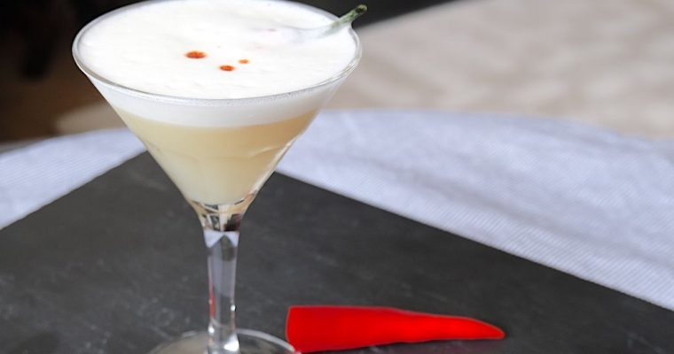 Pisco Sour Picante recipe