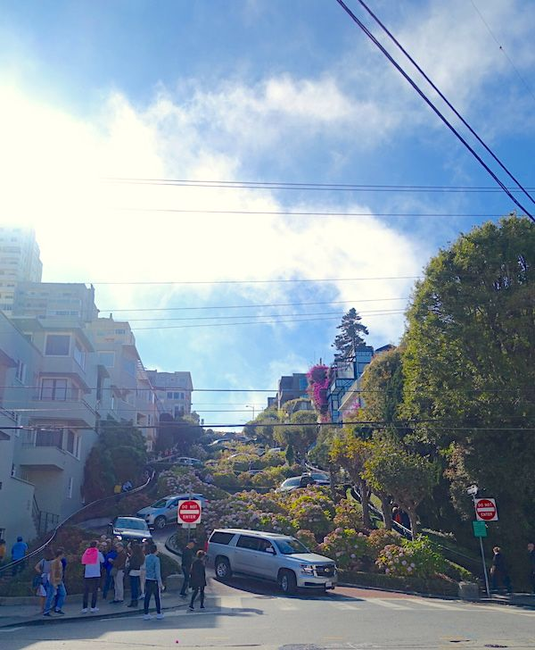 The Crookedest Lombard Street