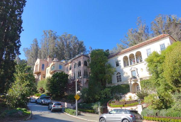 Mansions on Lyon Street