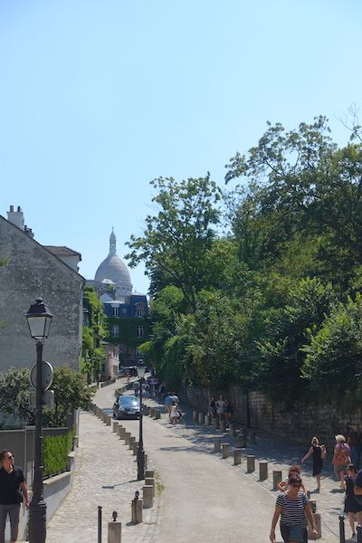 Residential areas with views of Sacre Coeur