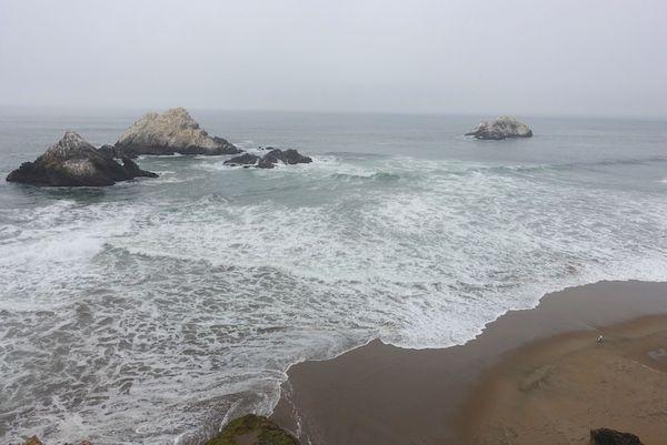 The Pacific Ocean from Ocean Beach
