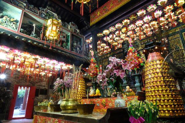 Inside Pak Tai Temple