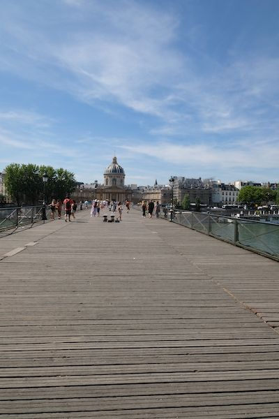 Pont des Arts with the Institut de France on the other end