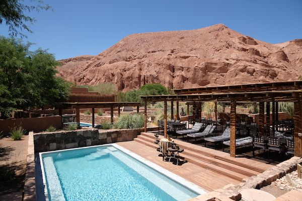 Swimming pool at the Alto Atacama Desert Lodge & Spa