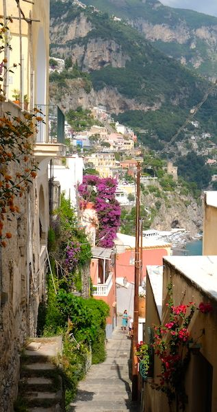 stairs of Positano