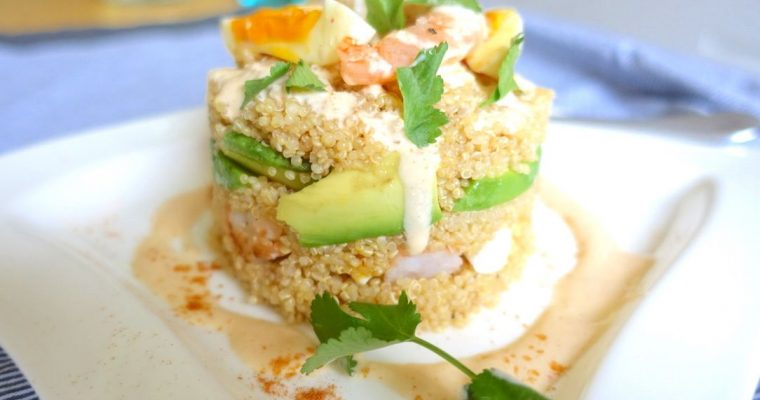 Quinoa Salad 'Peruvian Causa' Style