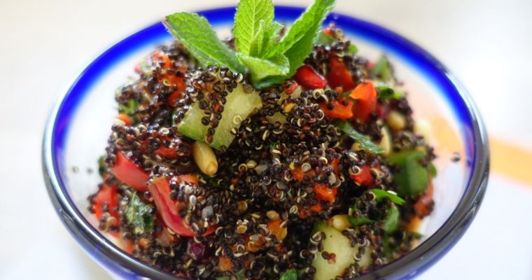 Black Quinoa Salad Recipe – An Exquisite Healthy Choice