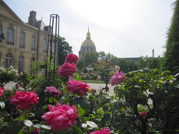 The Invalides dome from the museum