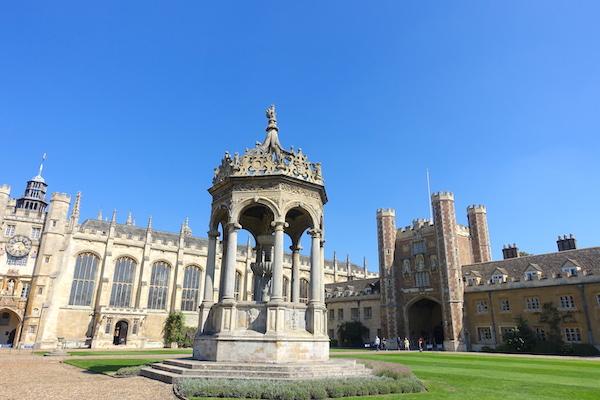 St John's college courtyard