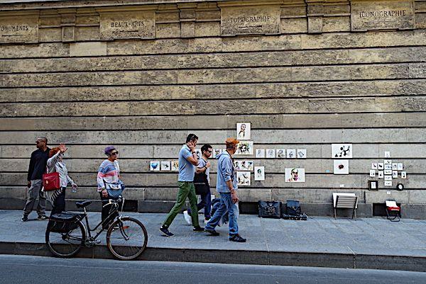 Street-and-pedestrians