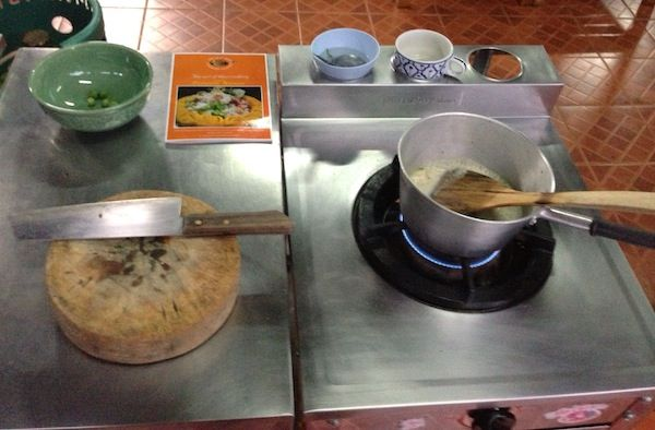 Hands-on Thai cooking class