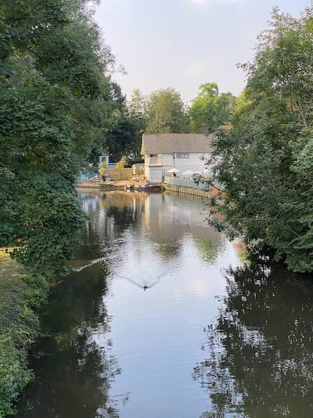 The river Wey and the Weyside