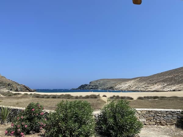 the view from Fokos taverna