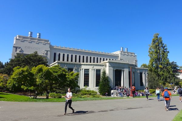 University of California Berkeley campus and student life