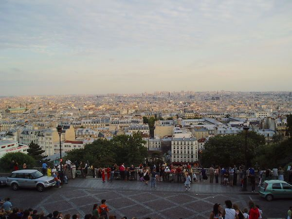 View of Paris from the Basilica