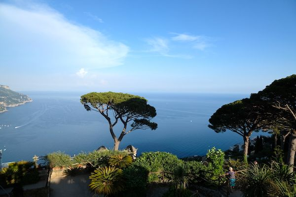 Sea views from Villa Ruffolo