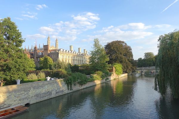 River Cam and College Backs