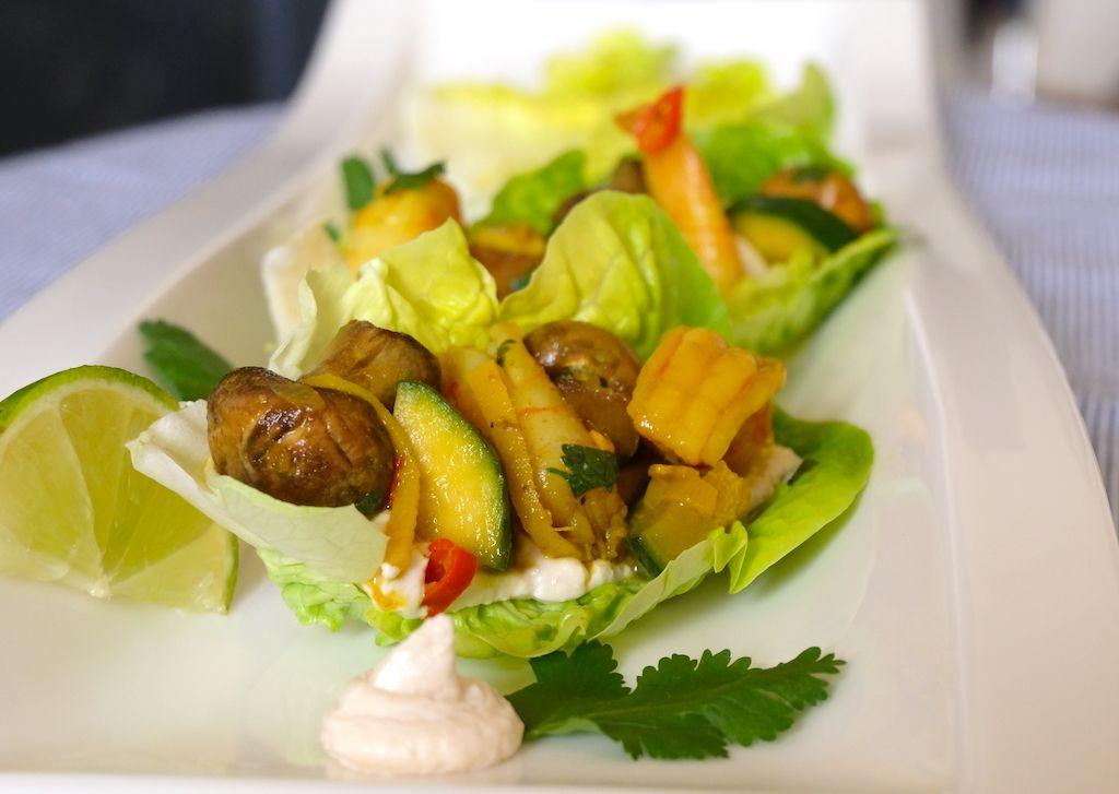 Prawn & Veggie Naked Tacos