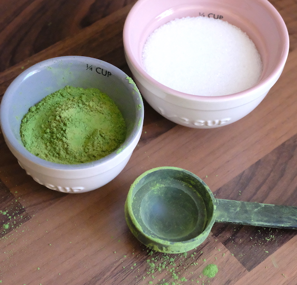 matcha & xylitol for cream