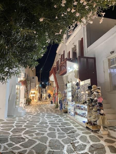 A street in Chora Town
