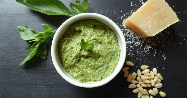 Versatile and Beautifully Green Pesto Sauce Recipe