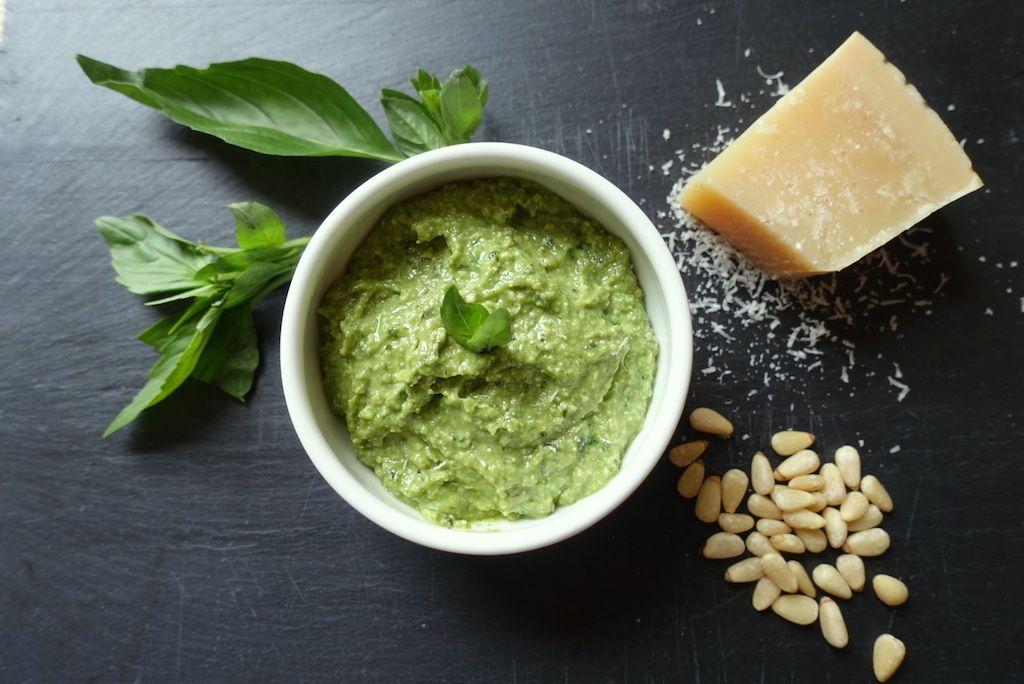 Versatile and Beautifully Green Pesto Sauce Recipe