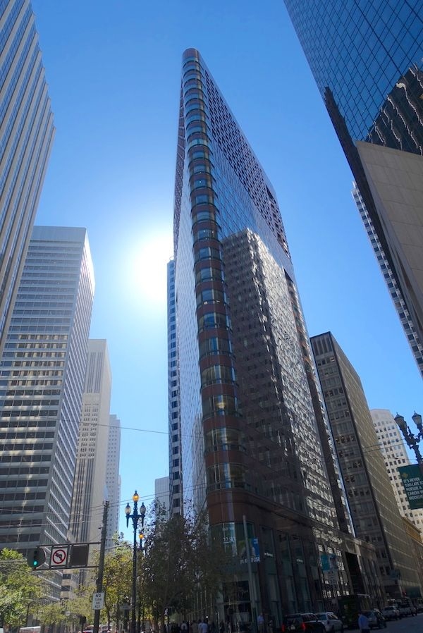 Skyscrapers in the Financial District